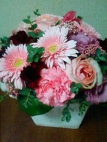 ワークライフバランス 大田区の女性社長日記-結婚記念日の花