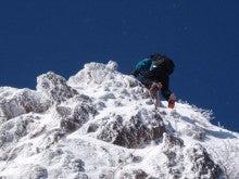 関西蛍雪山岳会のページ-第二岩壁の登攀