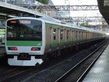 中央線の電車と釜-E231-500*G501