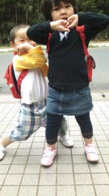 格闘親子と、のほほん母-090424_0836~01.jpg
