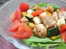 Green Days-チキンと夏野菜のサラダ