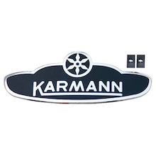 カルマンギアのある生活-カルマンのサイドメダリオン