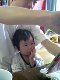 Grumpy Monkey(不機嫌なおさるさん)の観察日記-ask daddy to read book