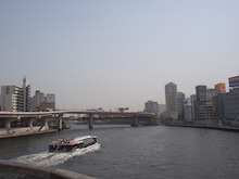 続 東京百景(BETA version)-#036 墨田区と中央区の境(隅田川)
