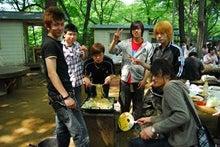 駒木会みんなのBLOG-江戸川ウォーク2009 8.BBQ風景3