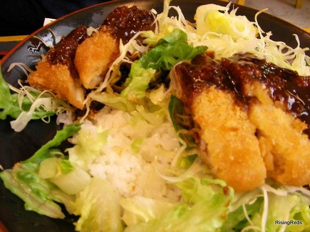 裏Rising REDS 浦和レッズ応援ブログ-味噌カツ丼2