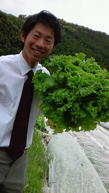 イタリア野菜・無農薬有機野菜・吉野ヶ里あいちゃん農園の栽培士「モリチン」の戦い!
