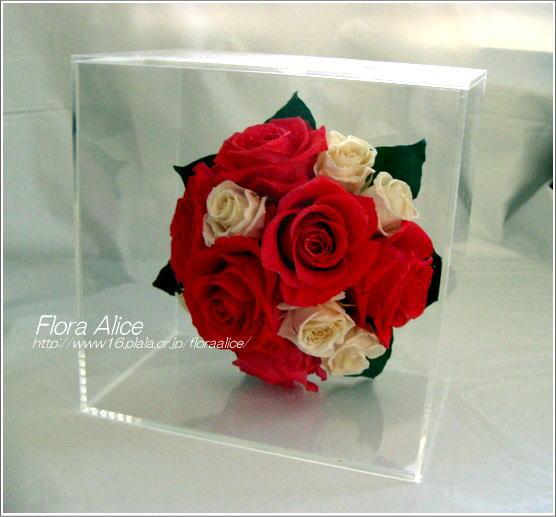 不思議な花のアリスのプリザーブドフラワーギャラリー-Flora Alice