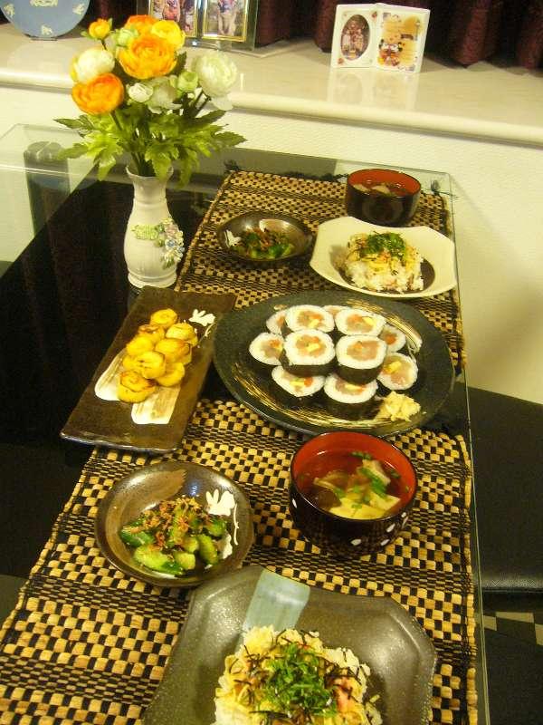 ウチのゴハン-090518夕ご飯
