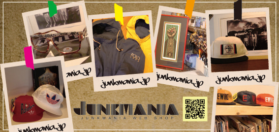 JUNKMANIA〔ジャンクマニア〕WEB SHOP BLOG-junkmania ジャンクマニア