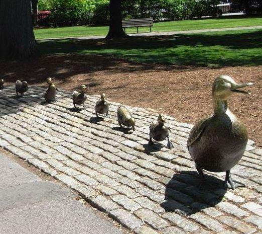 ボストンより愛をこめて-Public Garden