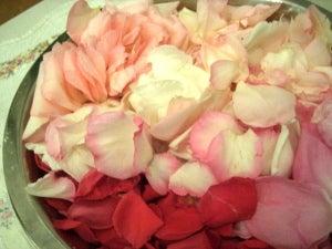●花&手作りのある優しい暮らし●-バラジャムの材料
