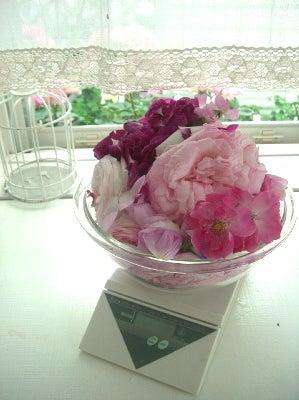 ●花&手作りのある優しい暮らし●-バラジャムの作り方