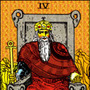 今日のカード Ⅳ 皇…