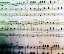 hirominのブログ-チムチムチェリー 楽譜の一部