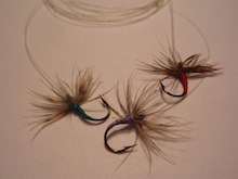 La pesca alla valsesiana-逆さ毛鉤仕掛け