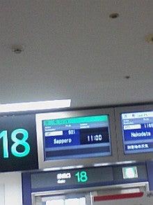 あゆ好き2号のあゆバカ日記-搭乗する飛行機.jpg