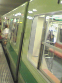 あゆ好き2号のあゆバカ日記-地下鉄3000系.jpg