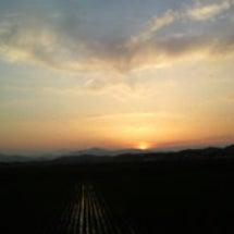 きれいな夕日♪