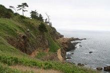 カルマンギアのある生活-ヤセの断崖