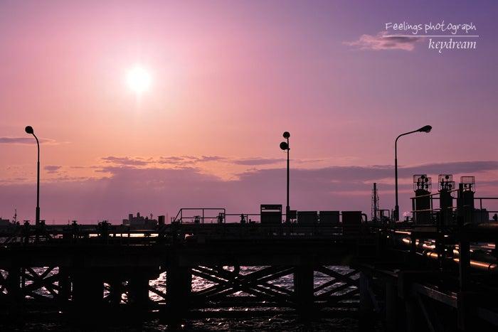 一眼レフ事始め 写真的生活-ピンクの夕暮れ