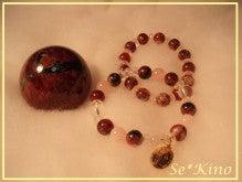 天然石アクセサリー Harmonia -090619-1
