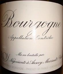 個人的ワインのブログ-Bourgogne Blanc Leloy 1999