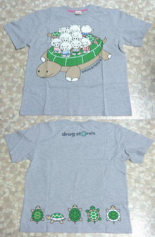 drug store's SHOP 亀有限定Tシャツ