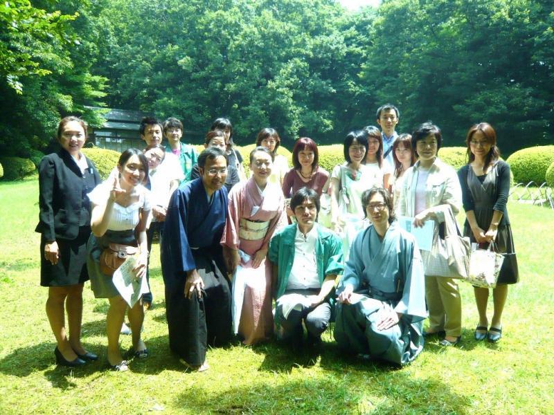 国際文化交流の活動報告-20090620_茶道勉強会10