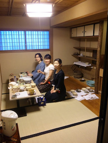 国際文化交流の活動報告-20090620_茶道勉強会18