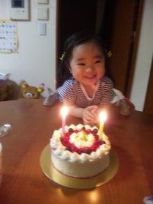 ちーママのブログ-姫の誕生日
