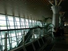 夫婦世界旅行-妻編-新装・コタキナバル国際空港