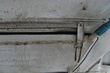 カルマンギアのある生活-オイル噴出1