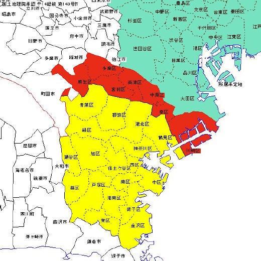 NAVER まとめ川崎市 地図画像集