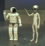 $宇宙人ゼリオの地球日記-ZERIO_ASIMO1
