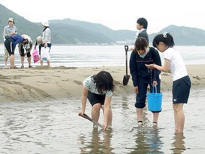 オカヤマのフィールドノート-砂浜採集