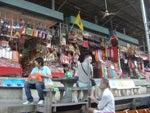 タイ旅行 サワディー カー-水上マーケット12