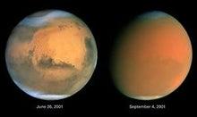 私の頭の中の宇宙人-火星砂嵐前後