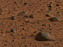私の頭の中の宇宙人-火星表面