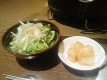 ニコタマ定食-カクテキ(?) + サラダ