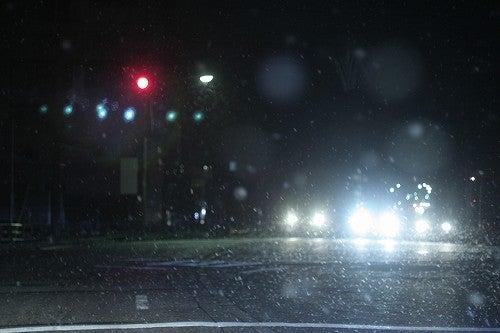 月光のスパングル-雨の夜更け