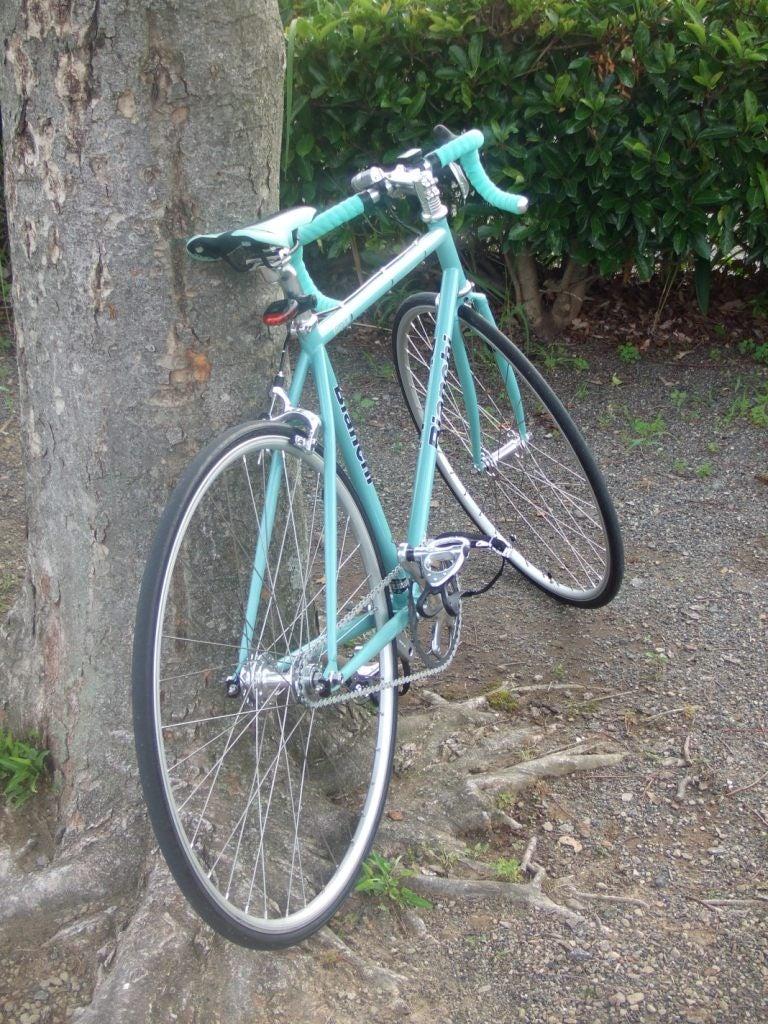 自転車の 自転車 固定ギア フリーギア : ピストバイク乗車レポート ...