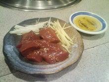 ニコタマ定食-牛レバー刺1