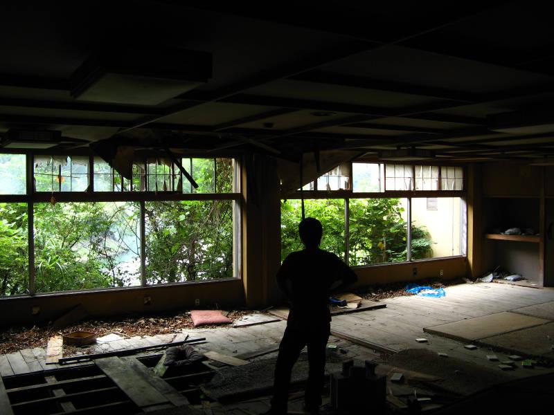 【趣味とか】 ちくわぱん 【日常とか】 writing by 写楽斎- 京都 廃墟 ruins