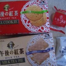 午後の紅茶クッキー♪