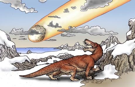 川崎悟司 オフィシャルブログ 古世界の住人 Powered by Ameba-巨大隕石を見るゴルゴノプス