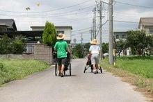 歩き人ふみの徒歩世界旅行 日本・台湾編-祭りバルーン発見