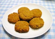*Peaceful home*韓国の農場より…-ごまきなこクッキー
