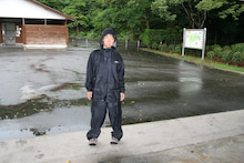 歩き人ふみの徒歩世界旅行 日本・台湾編-雨の日仕様