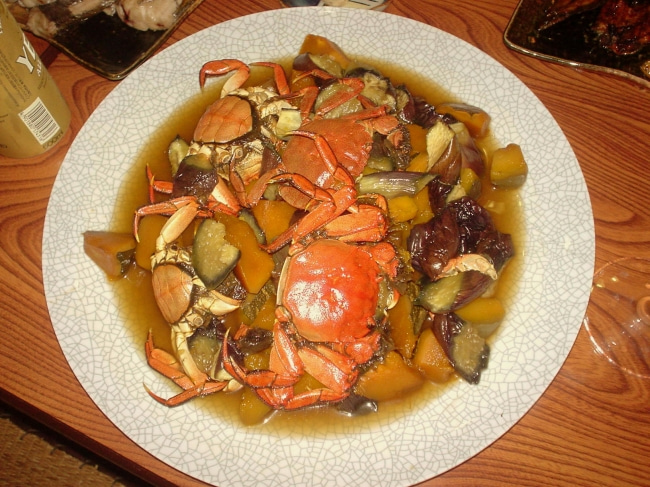 いろりや9640ブログ~高知県黒潮町LOVEな毎日をお届け~-ツガニと野菜の煮物